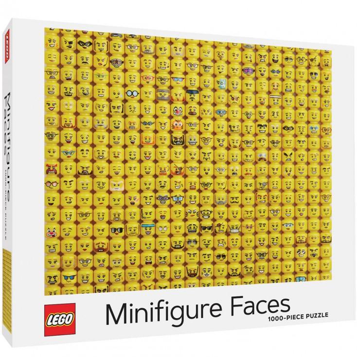 LEGO® Minifigure Faces 1000-Piece Jigsaw