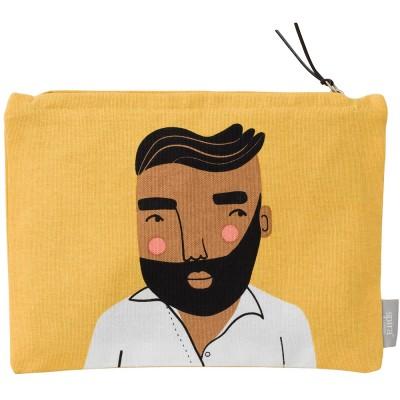 Spira of Sweden Zipped Jonas Face Pouch