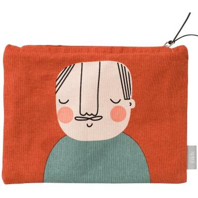 Spira of Sweden Åke Zipped Face Pouch