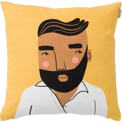 Spira of Sweden Face Cushion Cover - Jonas