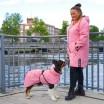Paikka Visibility Dog Raincoat - Pink