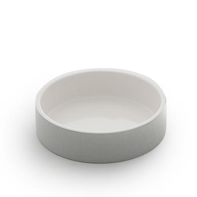 Paikka Extra-Small Soak-to-Cool Water Bowl - Grey