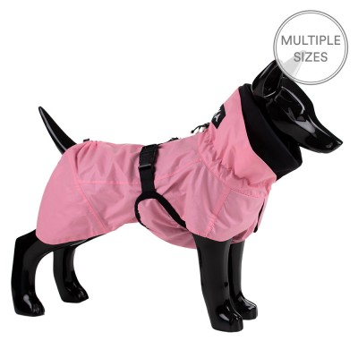 Paikka Visibility Dog Raincoat - Pink