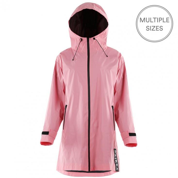 Paikka Visibility Reflective Human Raincoat - Pink