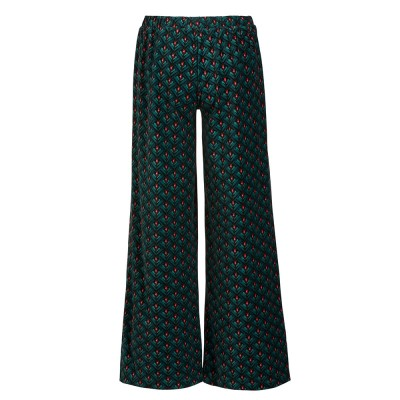 Pip Studio Lilly Lotus Velvet Loungewear Trousers - Green