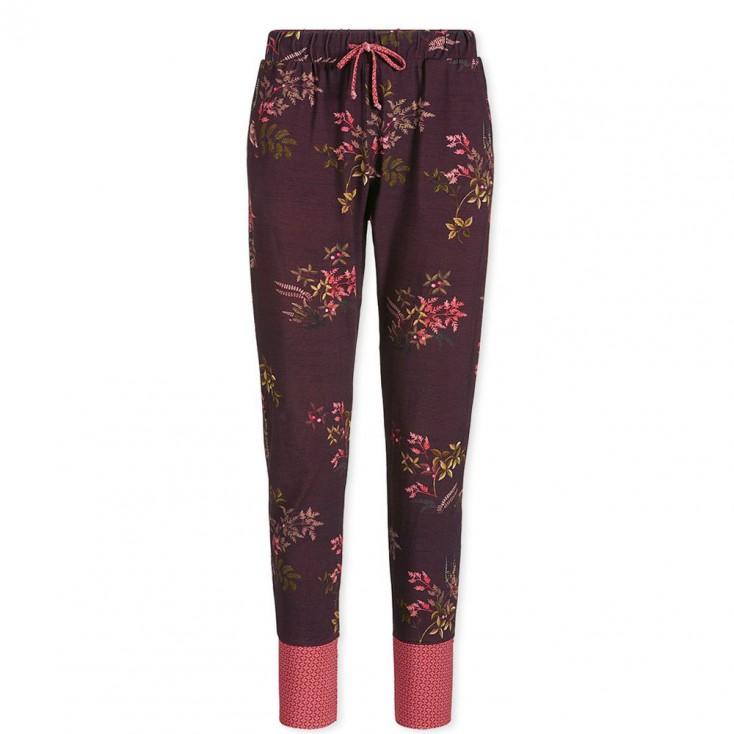 Woodsy Tales Dark Red Pyjama Trousers - Pip Studio