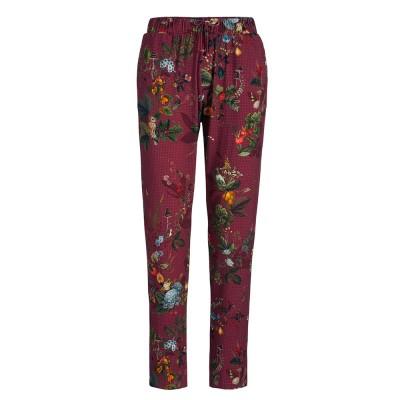 Floris Dark Red Pyjama Trousers - Pip Studio