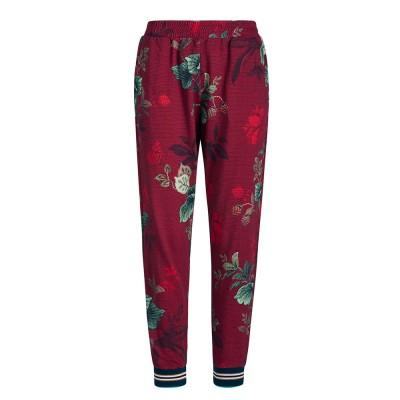 Leafy Stitch Red Pyjama Trousers - Pip Studio