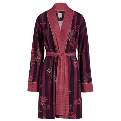 Woodsy Tales Dark Red Kimono - Pip Studio