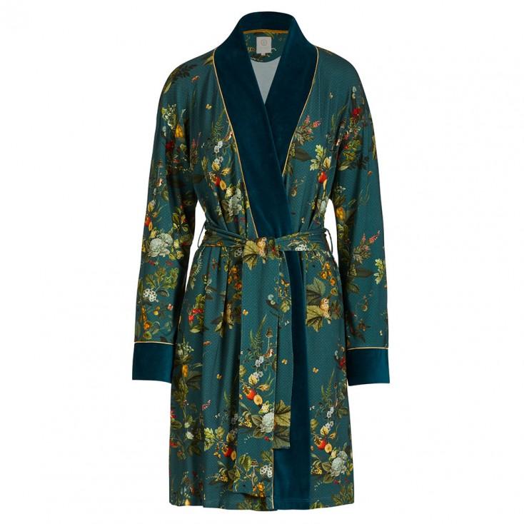 Autumn In Leaf Green Kimono - Pip Studio