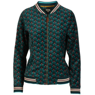 Pip Studio Lilly Lotus Bomberjacket - Green