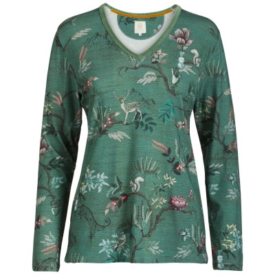 Woodland Nights Green Loungewear Top - Pip Studio