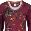 Floris Dark Red Loungewear Top - Pip Studio