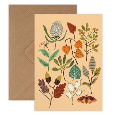 Brie Harrison Greeting Card - Autumn Walk