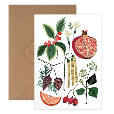 Brie Harrison Greeting Card - December Study