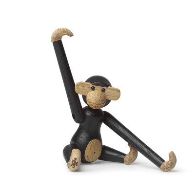 Kay Bojesen Mini Monkey By Rosendahl - Dark Stained Oak