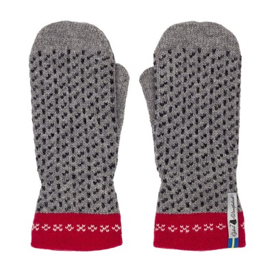Öjbro Swedish Mittens - Skaftö Grey