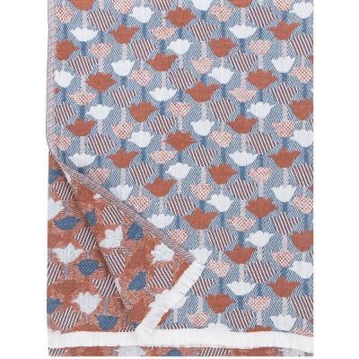 Lapuan Kankurit Tulppaani Blanket - Cinnamon & Blue