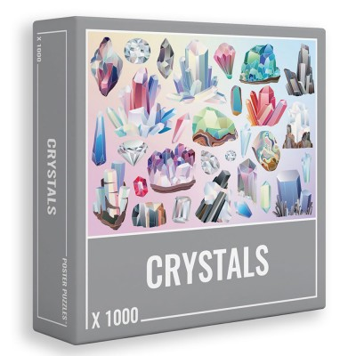 Crystals 1000 Piece Jigsaw Puzzle