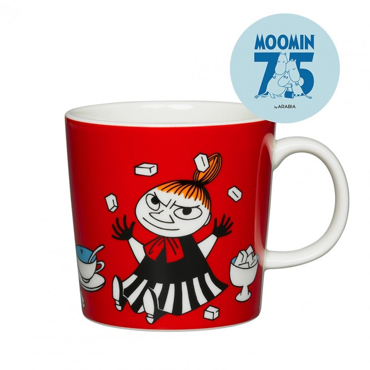 Arabia 75th Anniversary Moomin Mug - Little My