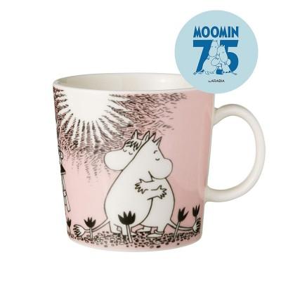 Arabia 75th Anniversary Moomin Mug - Love