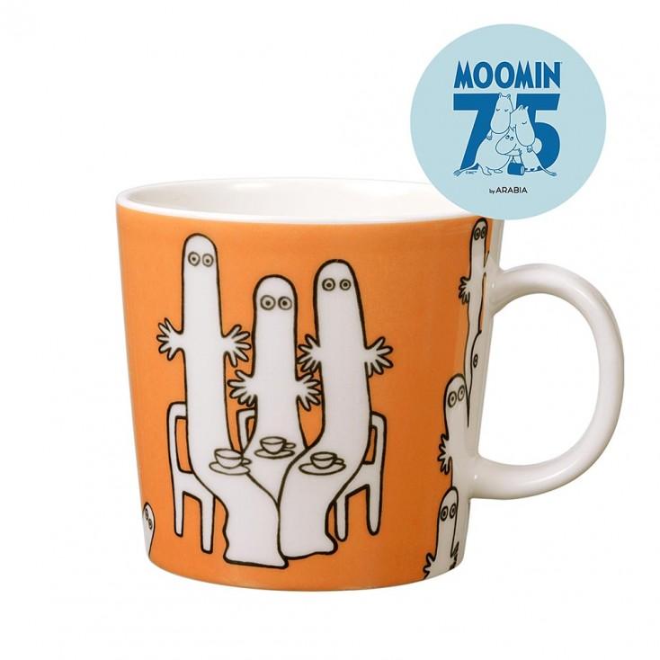 Arabia 75th Anniversary Moomin Mug - Hattifatteners