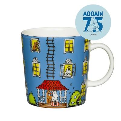 Arabia 75th Anniversary Moomin Mug - Moomin House