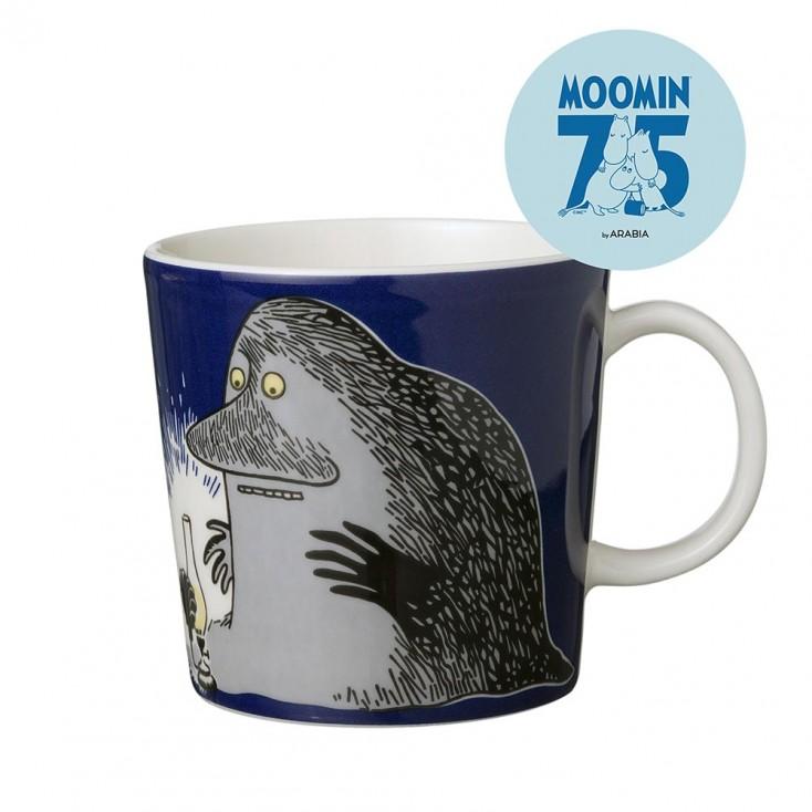 Arabia 75th Anniversary Moomin Mug - The Groke
