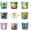 Arabia 75th Anniversary Moomin Mugs
