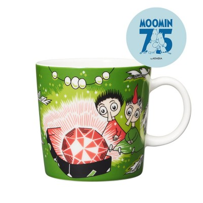 Arabia 75th Anniversary Moomin Mug - Thingumy and Bob
