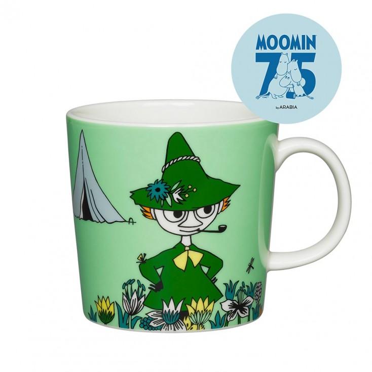 Arabia 75th Anniversary Moomin Mug - Snufkin