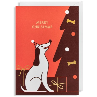 Christmas Hound Christmas Cards - Pack of 5
