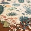 Cavallini & Co Cacti Succulents 1000 Piece Vintage Puzzle