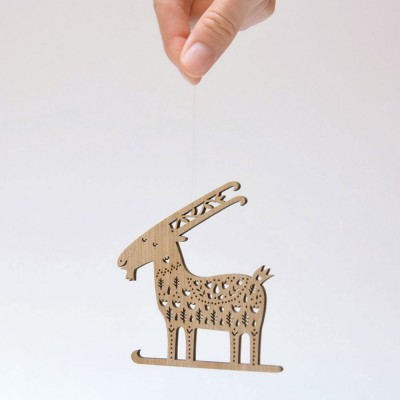 Etno Design Hanging Decoration - Story Of A Goat