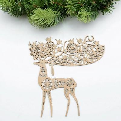 Etno Design Hanging Decoration - Nine Antler Deer