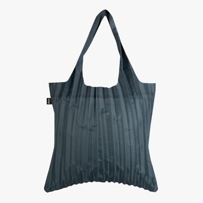 LOQI Pleated Charcoal Bag