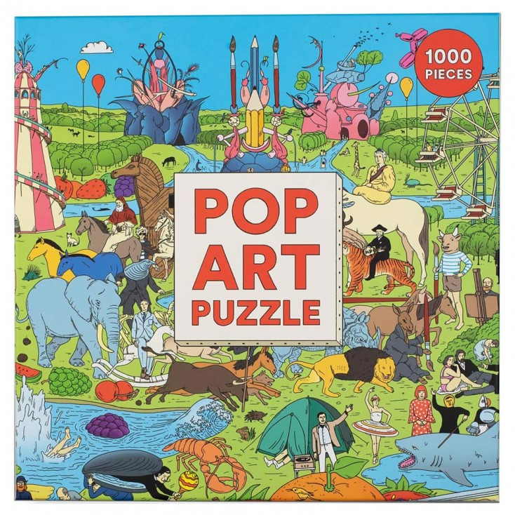 Pop Art 1000 Piece Jigsaw Puzzle