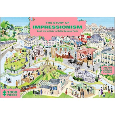 Story of Impressionism 1000 Piece Puzzle