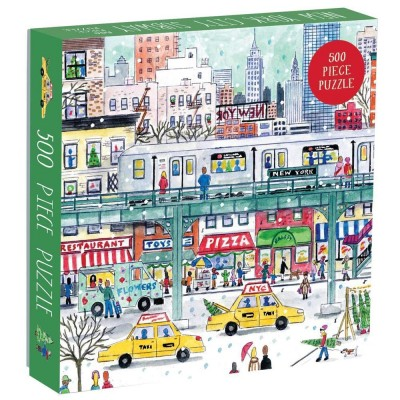 Michael Storrings New York City Subway 500 Piece Jigsaw Puzzle