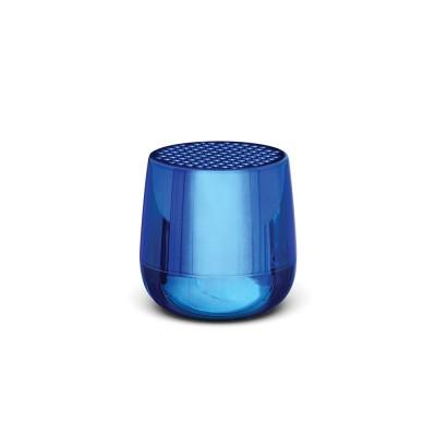 Lexon MINO+ Pairable Bluetooth Speaker - Metallic Blue