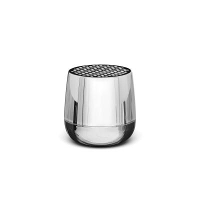 Lexon MINO+ Pairable Bluetooth Speaker - Metallic Chrome