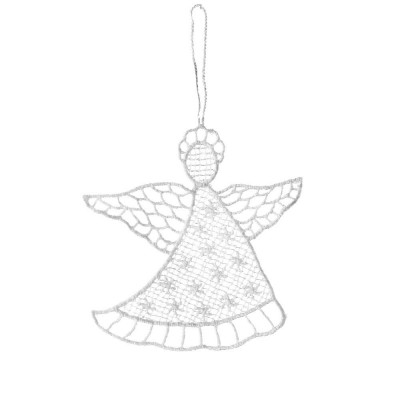 Juna White Lace Angel Hanging Decorations
