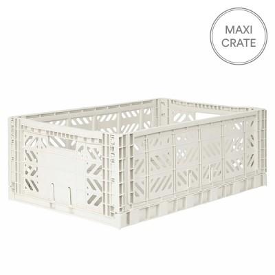 Aykasa Folding Crate Maxi - Coconut Milk
