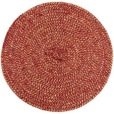 British Colour Standard Jute Large Table Mat - Guardsman Red