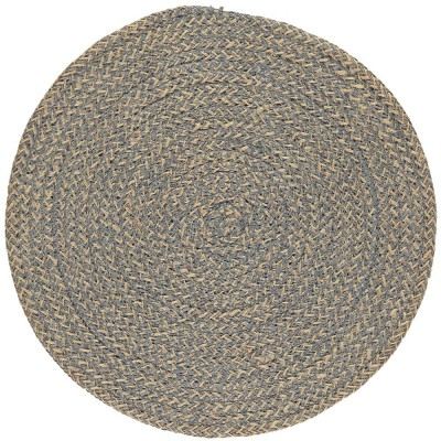British Colour Standard Large Jute Table Mat - Gull Grey