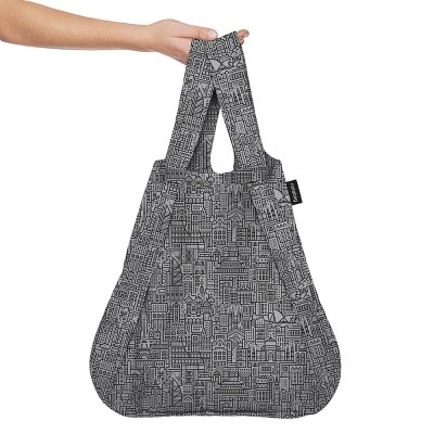 Notabag Transforming Tote - Hello World Black