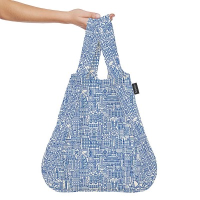 Notabag Transforming Tote - Hello World Blue