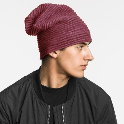 Design House Stockholm Pleece Beanie Hat - Bordeaux