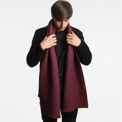 Design House Stockholm Long Pleece Scarf - Bordeaux