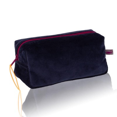 Farbenfreunde Navy Velvet Cosmetic Bag